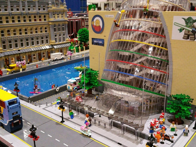 The Ccd In Lego Dublin Ireland In 2019